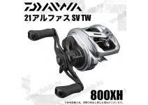 Daiwa 21  Alphas  SV TW  800XH