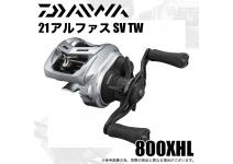 Daiwa 21  Alphas  SV TW  800XHL