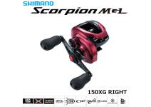 Shimano 19 Scorpion MGL 150XG RIGHT