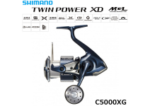 Shimano 21 Twin Power XD C5000XG
