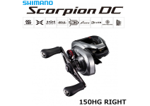 Shimano 21 Scorpion DC 150HG RIGHT