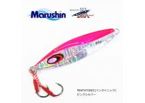 Marushin Pentatonic Pink Silver