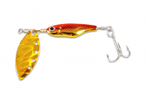 Daiwa SPINNER Z  Holo Red Gold