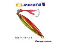 Major Craft Jig Para TG #3 Red gold