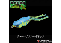 Jackall Kaera Chart Blue drip Frog