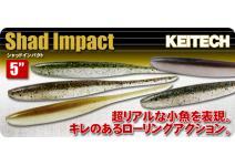 "Keitech Shad Impact 5"""
