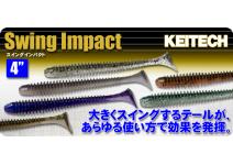 "Keitech Swing Impact 4"""