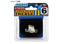 SHOUT Curve Point Treble 11