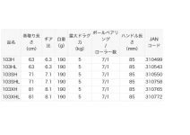 Daiwa 20 Tatula SV TW 103XHL