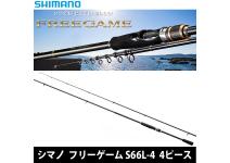 Shimano Free Game S66L-4