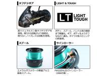 Daiwa 21 Emeraldas Air FC LT2500-XH