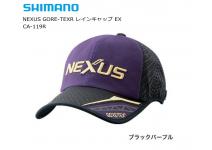 SHIMANO NEXUS GORE-TEX®  EX CA-119R черно фиолетовая