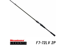 Megabass 19 LEVANTE  F7-72LV 2P
