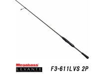 Megabass 19 LEVANTE F3-611LVS 2P