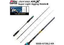 Abu Garcia Salty Stage KR-X Super Light Jigging MobileⅢ SLJ SSSS-673SLJ-KR