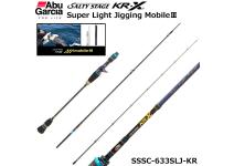 Abu Garcia Salty Stage KR-X Super Light Jigging MobileⅢ SLJ SSSC-633SLJ-KR