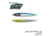 Jackall Chibimeta TYPE-1 Sardine