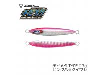 Jackall Chibimeta TYPE-1 Pink Sardines