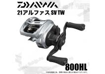 Daiwa 21  Alphas  SV TW  800HL