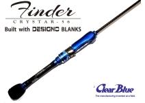 Clear  Blue Crystar-56 Finder