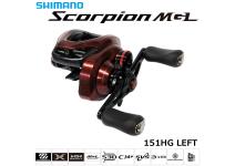 Shimano 19 Scorpion MGL 151HG LEFT