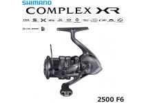 Shimano 21 Complex XR 2500 F6