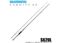 Shimano 21 Cardiff AX S62UL