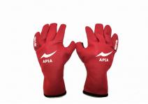 Apia Titanium Glove  red