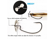 Decoy Screw Hook Worm 106