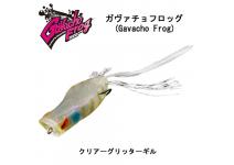 Jackall Gavacho Frog  Clear Glitter Gill