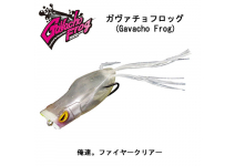 Jackall Gavacho Frog Fire clear