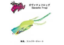Jackall Gavacho Frog Fire chart