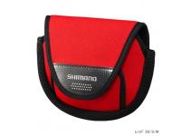 Чехол для катушек Shimano PC-031L red