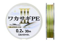 Daiwa Crystia Wakasagi PE III 30m