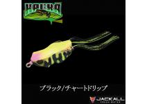 Jackall Kaera Black Chart drip Frog