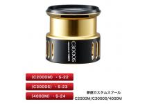 Shimano Yumeya custom spool 4000M S-24